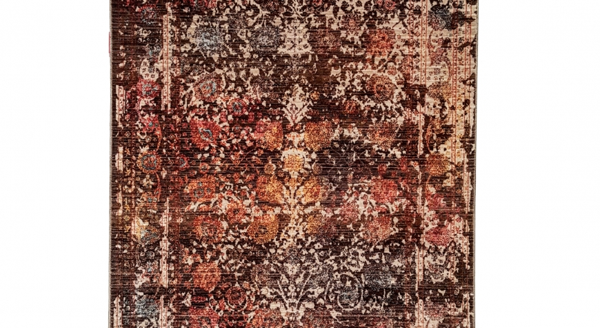 BURNT ROSE Turkish Seasons Rug from Morelli Rugs