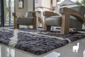 Huacaya Alpaca Rug Collection Scene Picture