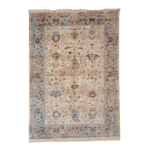 NEUTRAL HYANCINTHS Turkish Seasons Rug from Morelli Rugs
