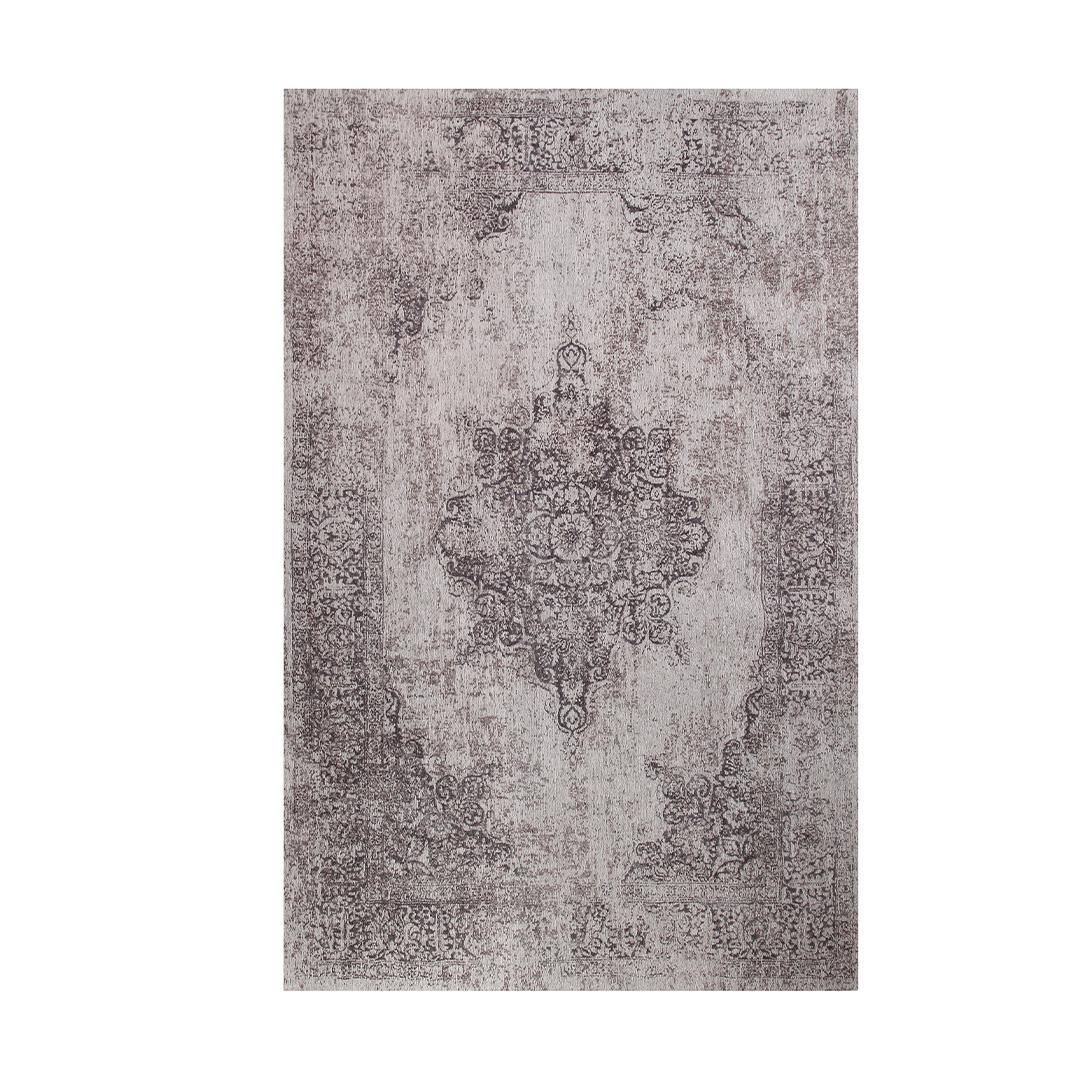 Vintage Grey Modern Floor Art Rug Morellirugs